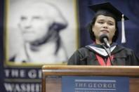 Valedictorian, Elliott School of International Affairs, George Washington University 2006. Courtesy: Photograds