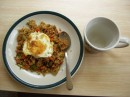 My birthday lunch - nasi goreng kambing ala Risa