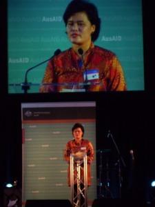 Berpidato di depan penerima Australian Leadership Award dari 26 negara, 2010