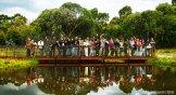with 30 Indonesian students at Tidbinbilla national park - 11 April 2010