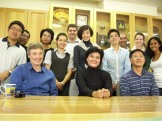 with Prof Chen and my classmates on the last day of Management Research Methods Class - 8 April 2010