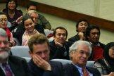 Hadirin mendengarkan pidato JK dengan penuh perhatian