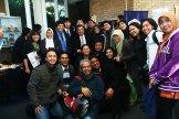 JK berfoto bersama para mahasiwa Indonesia