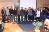 New ANU graduates with Indonesian Ambassador and Chairman of PPIA ANU Branch