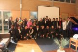 New ANU students with Indonesian Ambassador and Chairman of PPIA ANU Branch - photo by Karina