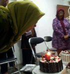 My mom-in-law surprise birthday gathering, 17 Feb 2013, Yogyakarta