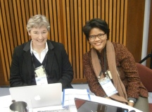 Reporting 13th NBLF at the Parliament House with Anne, 27 June 2013